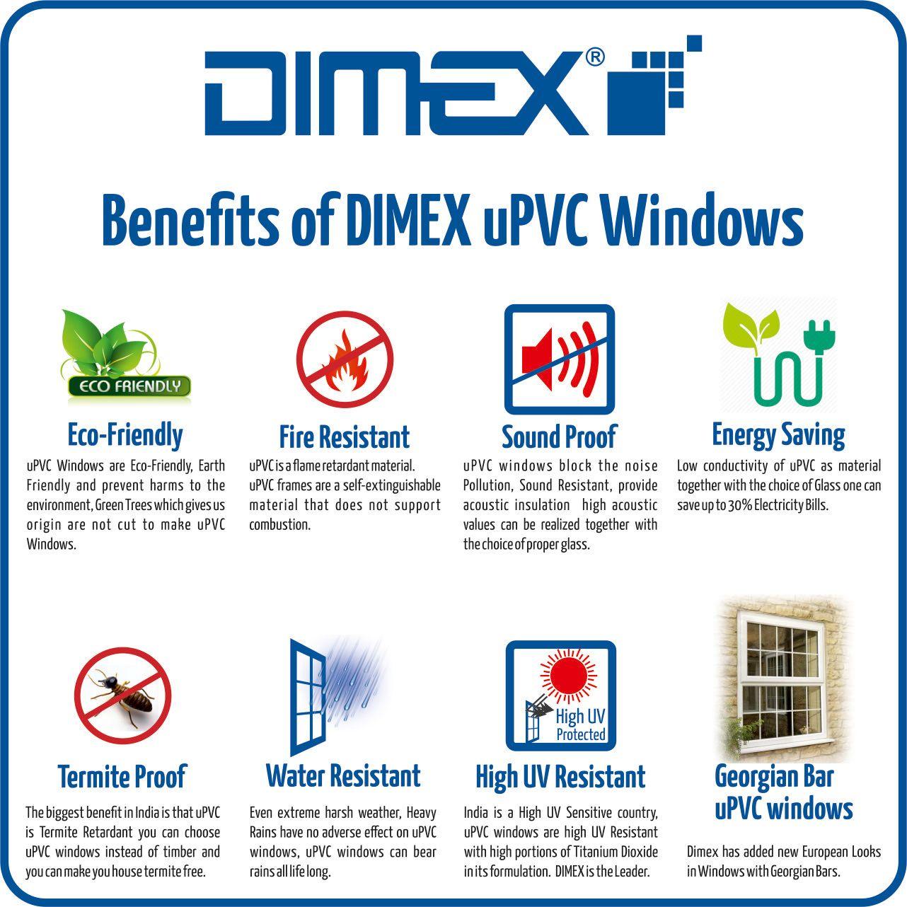 The Benefits of DIMEX uPVC Windows EcoFriendly