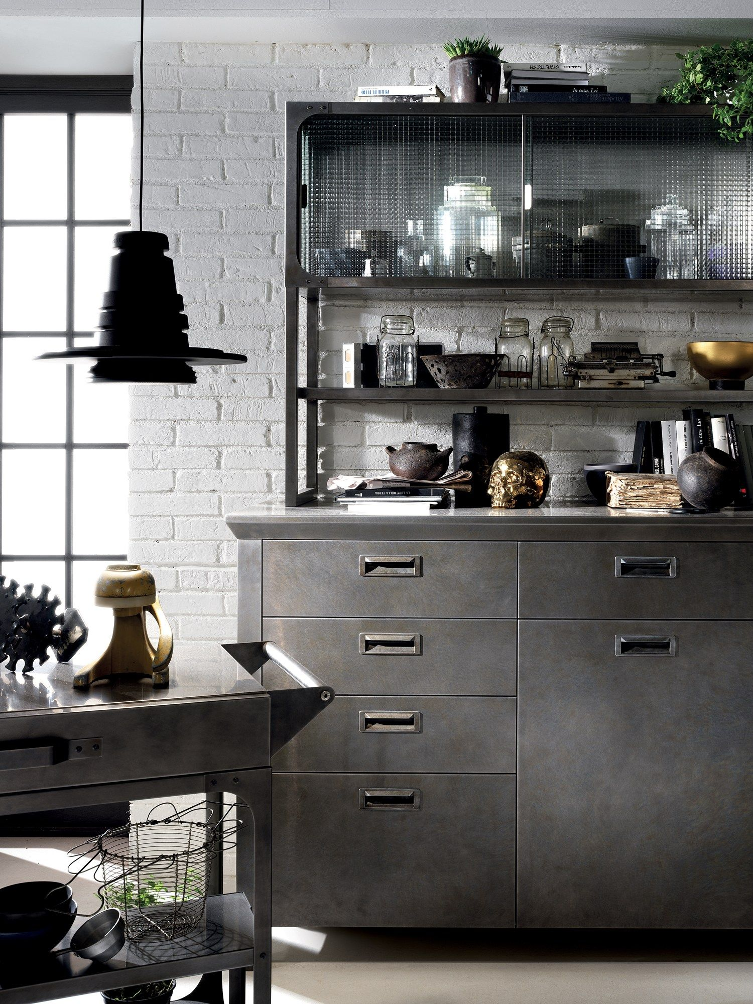 Cucina componibile DIESEL SOCIAL KITCHEN Linea Scavolini by