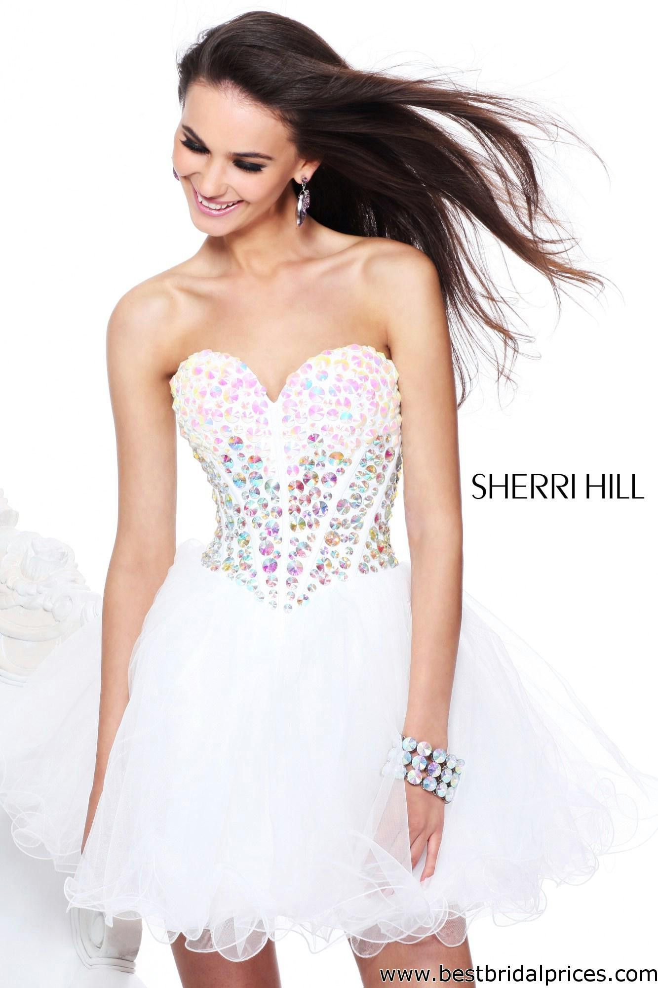 Sherri hill rehearsal dinner dress one day uc pinterest