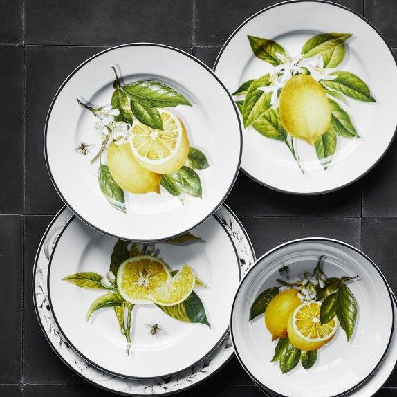 Meyer Lemon Dinnerware Collection Williams Sonoma