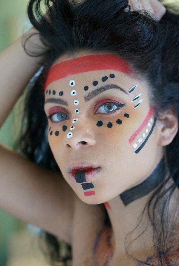 Häufig ▷ 1001+ bonnes idées pour le maquillage indienne | Maquillage  ZW75