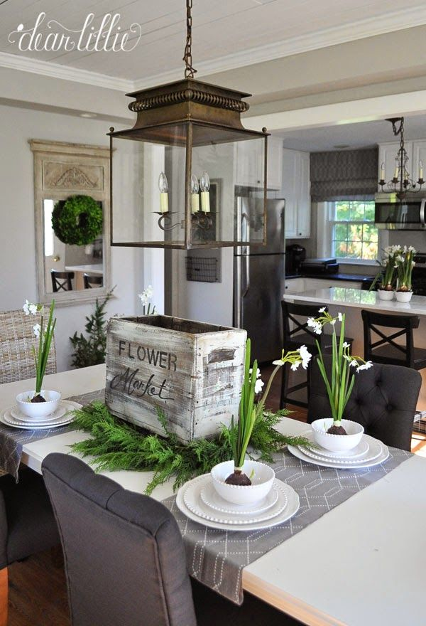 Dear Lillie Jason S Kitchen And Dining Room And Our In Christ Alone Oversized Signs Dining Room Design Home House
