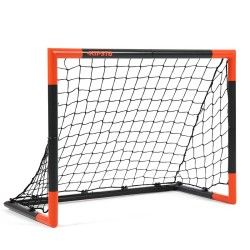 But Football Classic Goal Taille S Gris Orange But De Foot But Football Decathlon