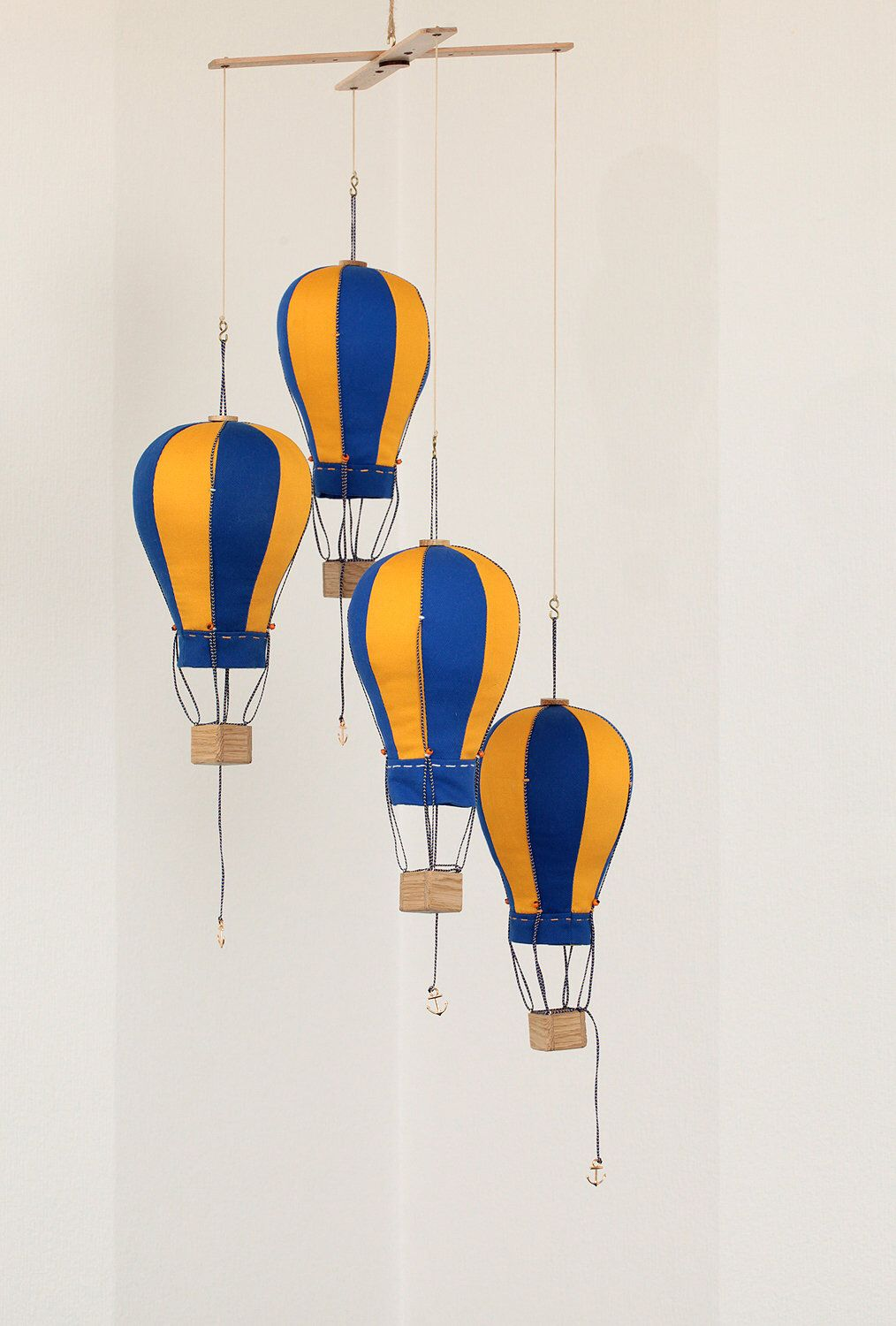 Hot Air Balloon Mobile, Nursery, Kids room Decor, Fly