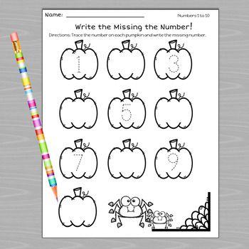 Pumpkin Math Worksheets Pumpkin Math Math Worksheets Math Centers Kindergarten