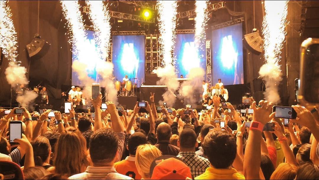Abriendo Concierto De Nicky Jam Con Hola Bebe Concert