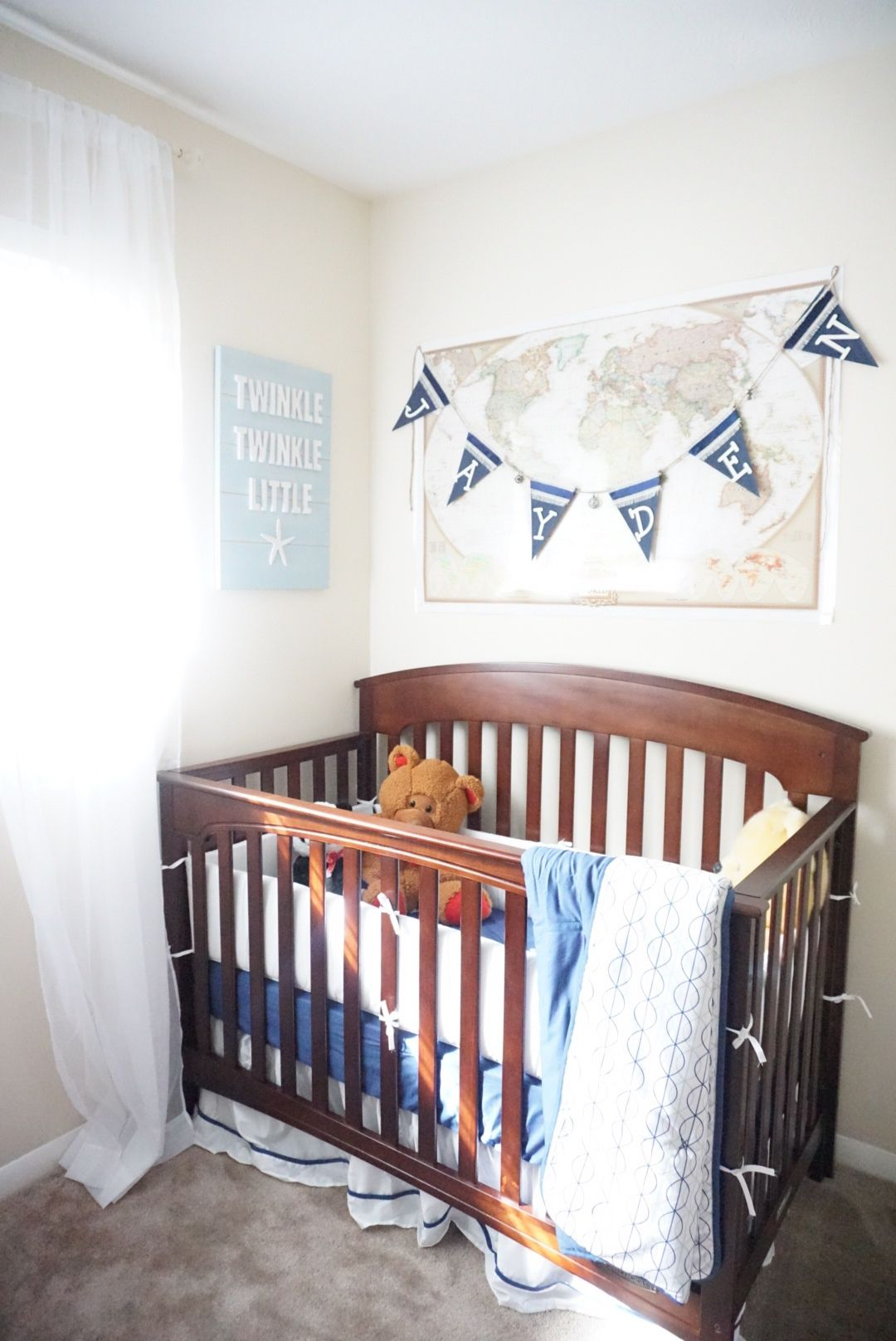 On the blog, all the way from London, I have Domestic Clean Londonsharing withus the 5 Golden Rules When Designing a Child's Bedroom. Here are 5 great tips I used when designing Jayden&#821…