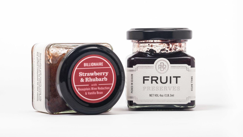 Black radish creamery preserves packaging by slagle