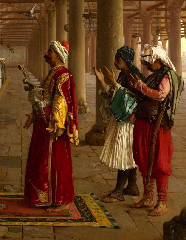"Citaten Picasso : ""prayer in the mosque detail by jean léon gérôme"