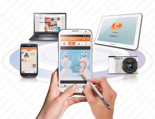 Samsung annuncia il nuovo ChatON 2.0 Smart tv, Samsung