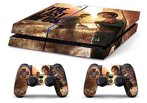 Skin Ps4 Hd The Last Of Us Limited Edition Playstation 4 Decal