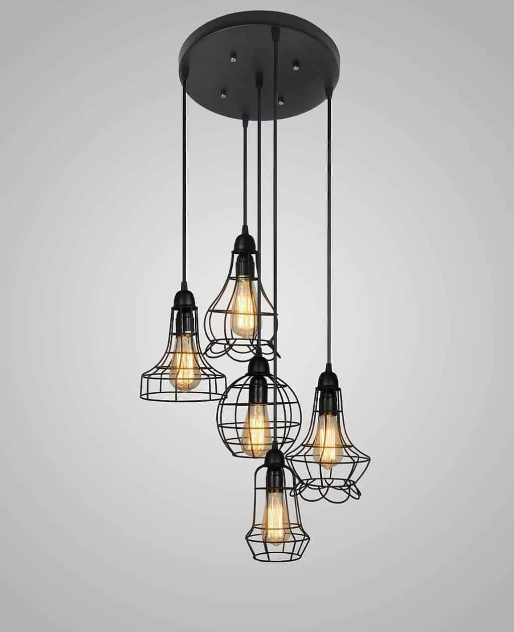An Array Of Vintage Farmhouse And Industrial Style Lighting