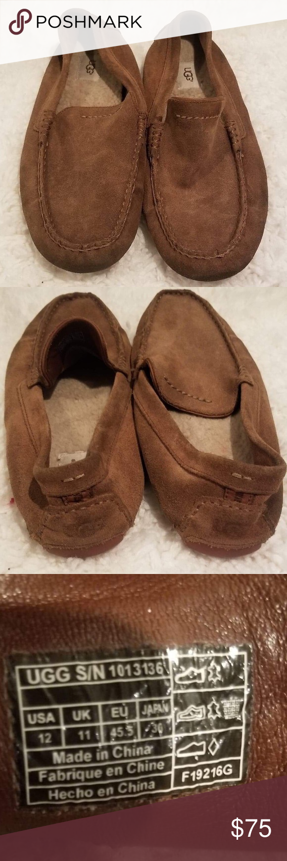 8a859124092 Uggs men Henrick slip on shoes I'll say euc UGG Shoes Loafers & Slip ...