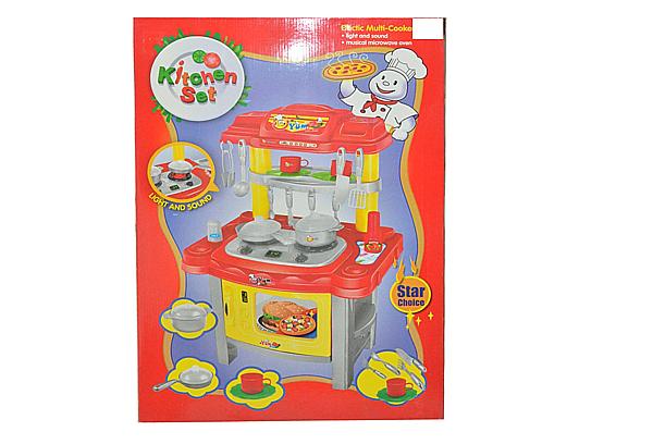 Yum Yum Kitchen Set W Light Sound Kitchen Sets Settings Toys