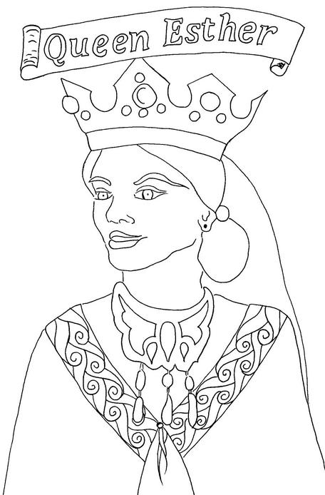 Queen Esther Coloring Page Coloringpagebook Com Bible Coloring Pages Bible Coloring Queen Esther Crafts