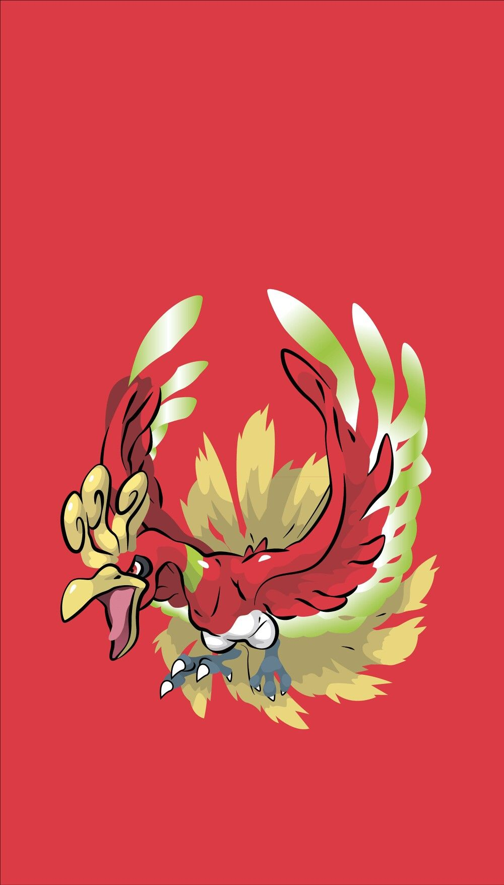 Ho Oh Wallpaper Cute Pokemon Wallpaper Pokemon Backgrounds Pokemon Art