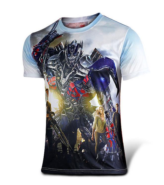 Transformers  Age of Extinction Autobots Optimus Prime t-shirt ... c67b623520e