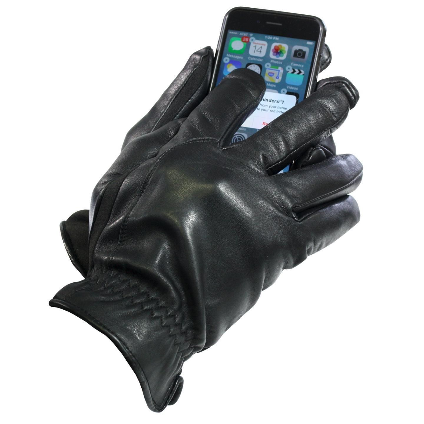 Mens gloves isotoner - Isotoner Men S Touch Screen Thermaflex Lined Gloves