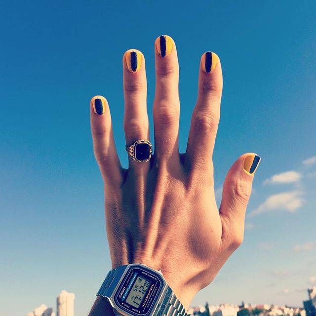 These #MalePolish Selfies Finally Put The \'Man\' Back In \'Manicure\'
