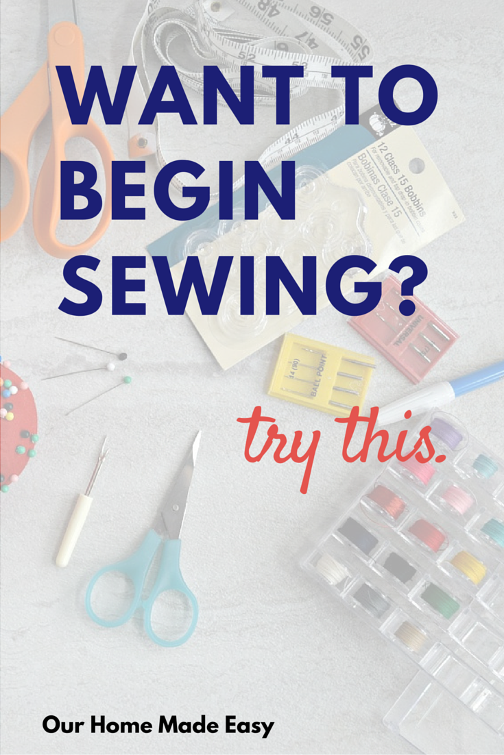 The Top 15 must haves for sewing beginners (Easy and Affordable!) #sewingbeginner
