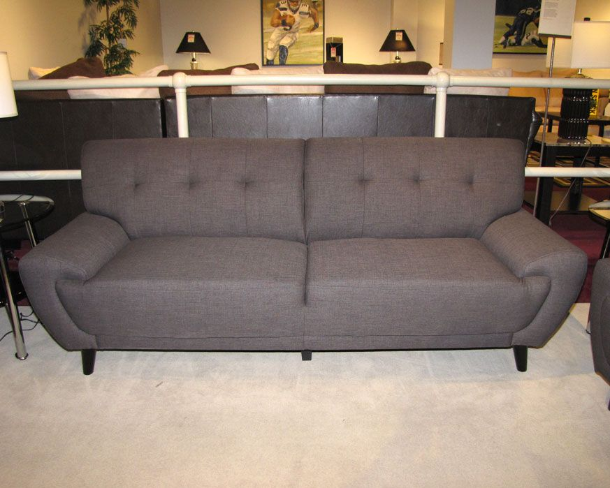 Sofa Uhw090 300 Harlow Charcoal Furniture Factory Direct Sofas Fabric