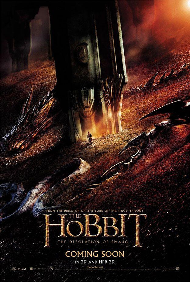 Fabuloso Cartel De El Hobbit La Desolación De Smaug The Hobbit Movies Hobbit Desolation Of Smaug Desolation Of Smaug