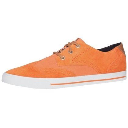 Coole #Schnürschuhe in #Orange ab 89,90€ ♥ Hier kaufen: http://stylefru.it/s101630 #sneaker #tommyhilfiger