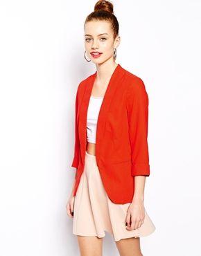 f6400bb4745a New Look Crepe Blazer | Style | Blazer, Fashion, Blazer outfits