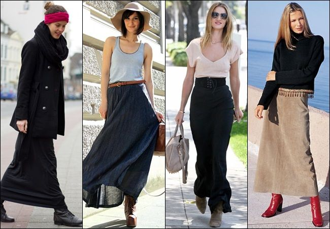 maxi skirt with boots suggestion on what shoes to wear