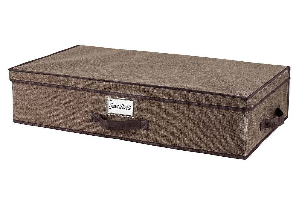 One Kings Lane - Declutter Your Closet - Espresso Underbed Storage Box  sc 1 st  Pinterest & One Kings Lane - Declutter Your Closet - Espresso Underbed Storage ...