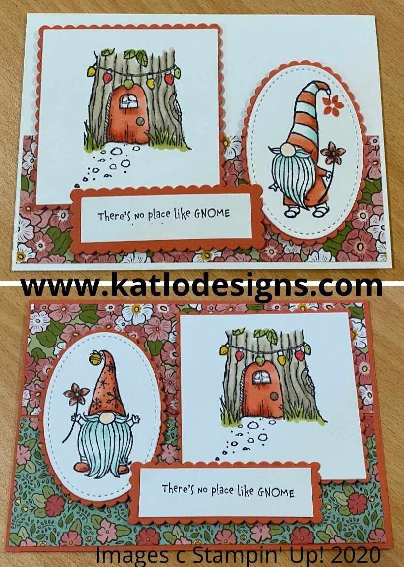 Gnome for the Holidays stamp set, Stampin' Up! cards in