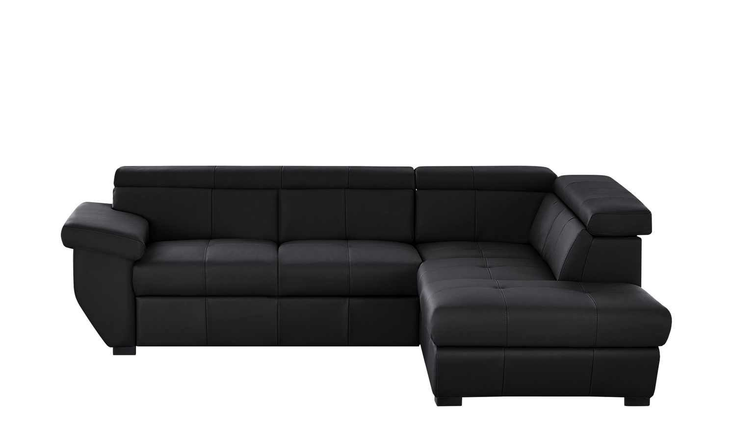 Uno Ecksofa Schwarz Leder Speedway Ecksofa Moderne Couch Und Sofa