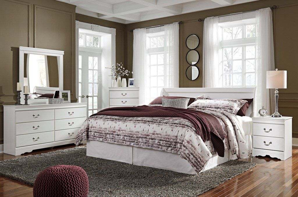 Best The 5Pc Anarasia Bedroom Collection Sleigh Bedroom Set Bedroom Sets Luxurious Bedrooms 400 x 300