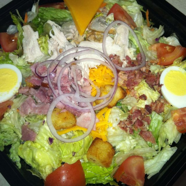 Cracker Barrels Chef Salad A Good Non Guilt Pleasure
