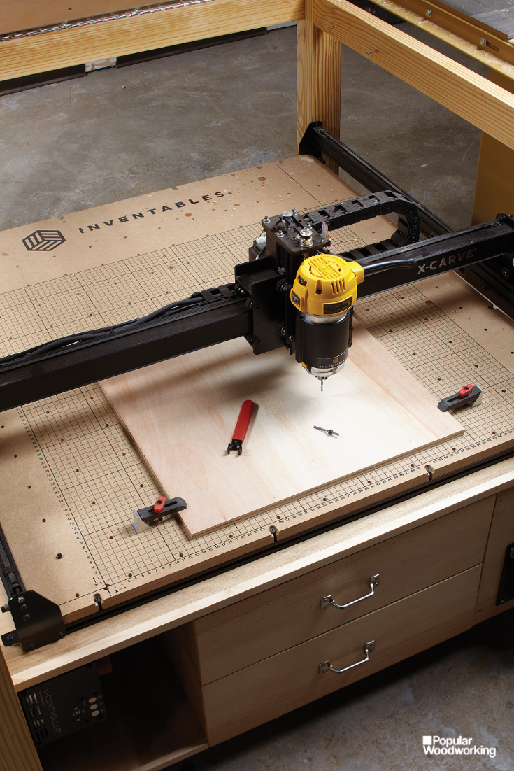 Cnc Outfeed Table Digital Woodworking Woodworking