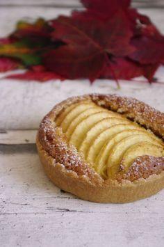 Tarte aux pommes avec cannelle