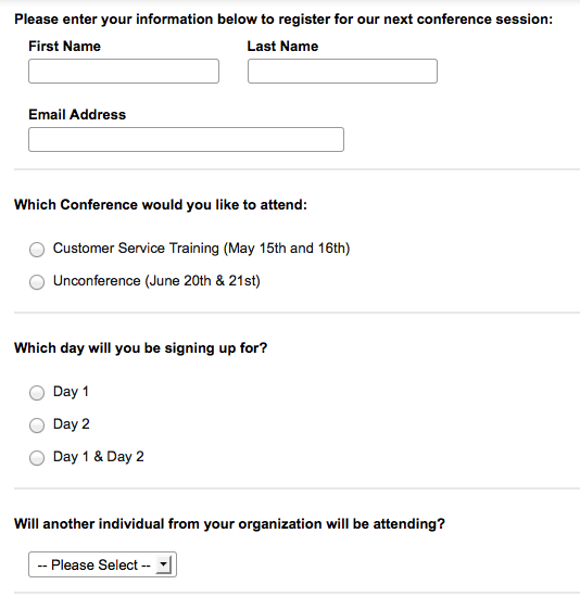 How To Optimize Your Event Registration Form Like A Web Marketing