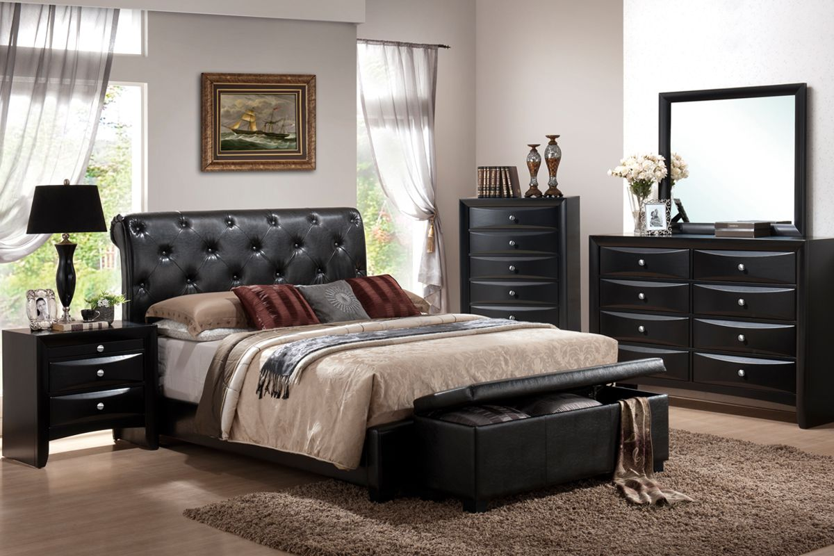 Wood Beds Tufted Headboards And Leather On Pinterest