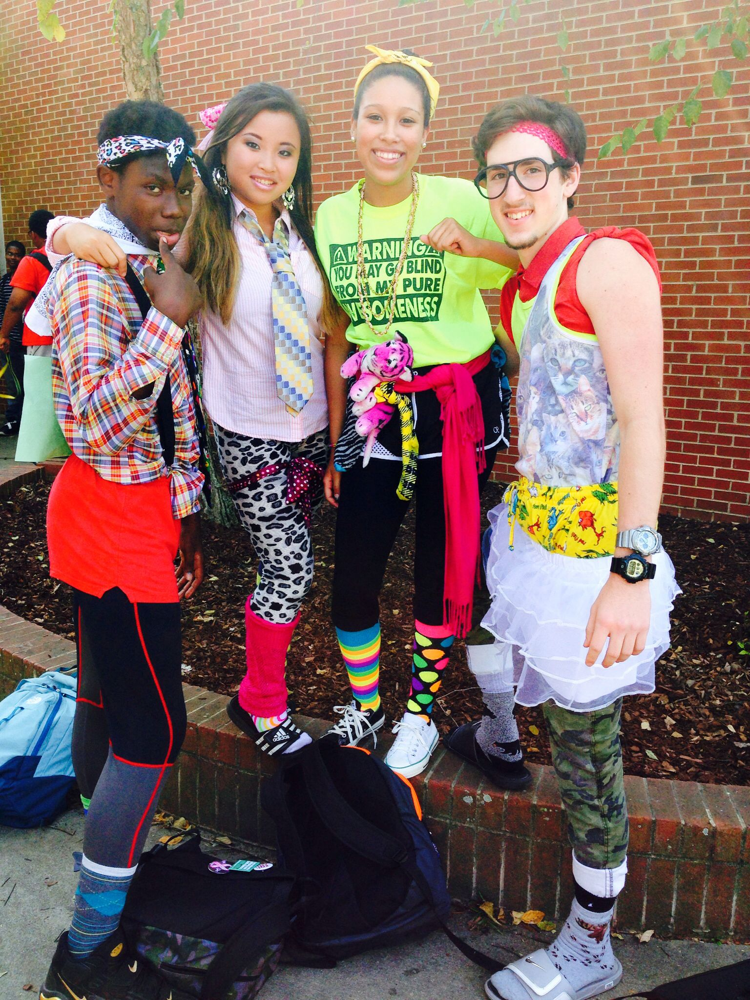 No Body Does Wacky Tacky Day Like Garner! | GARNER #IAmATrojan !! | Pinterest | Bodies School ...