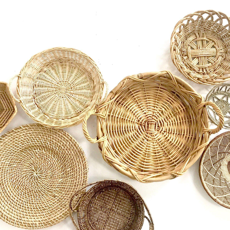 Enchanting Decorative Wall Baskets Image Collection - Wall Art ...