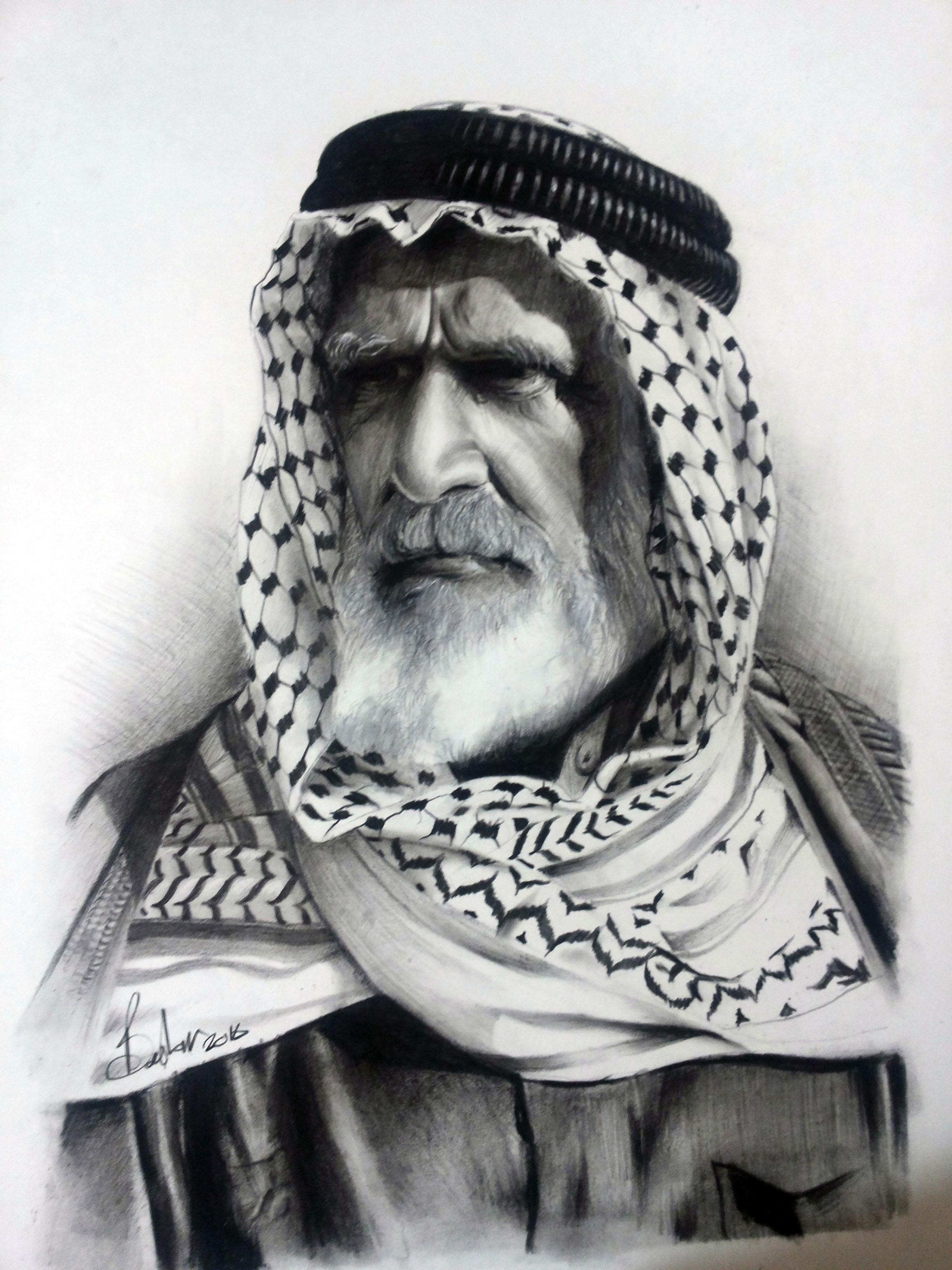 charcoal - Bashar majeed