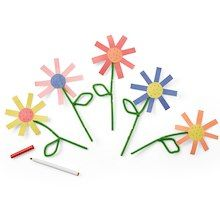 Creatology® 9 x 12 Construction Paper, Assorted Colors #constructionpaperflowers