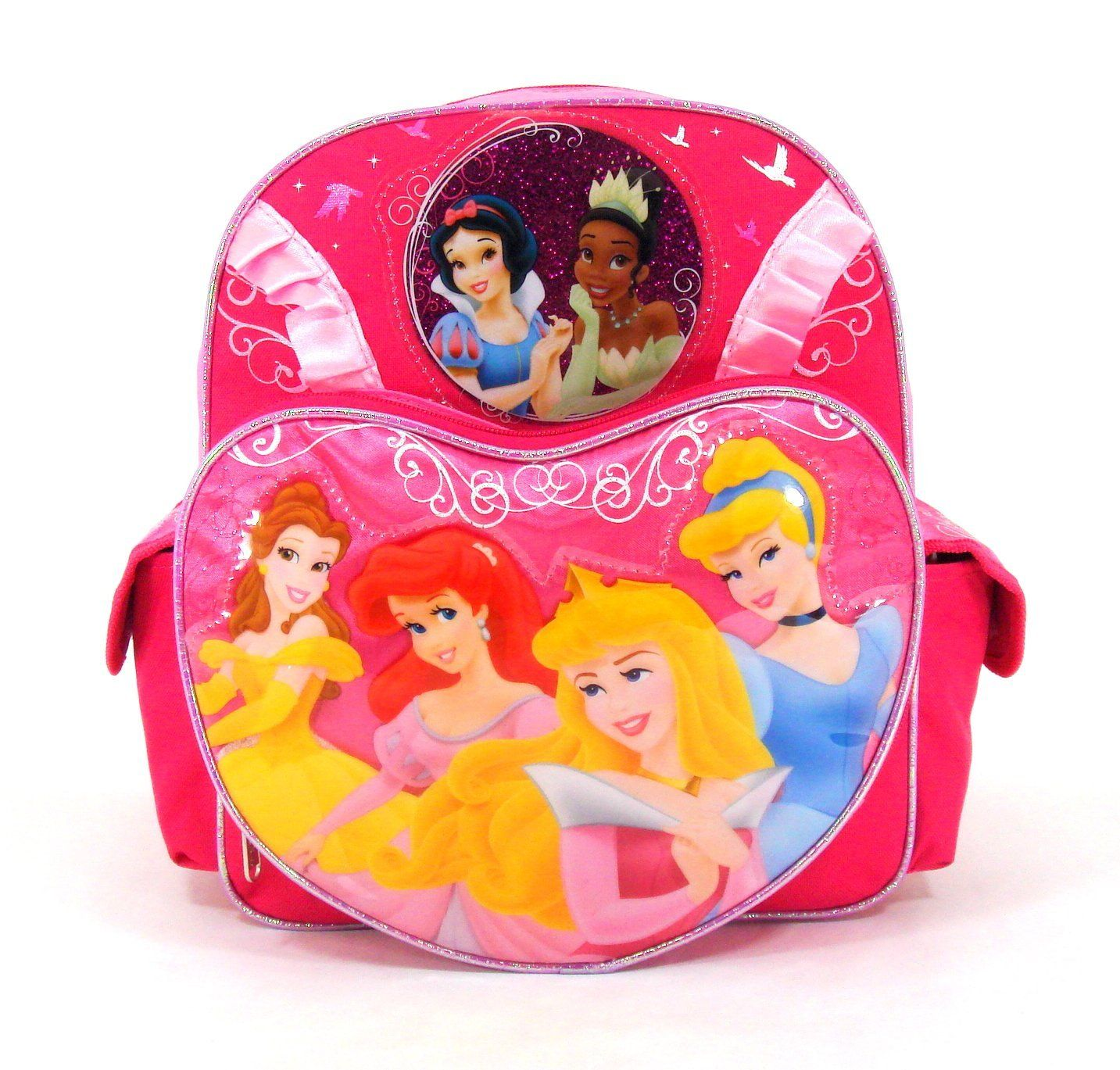 828be1741d Disney Princess - Princess Wishes - Large 12  Toddler Backpack - Featuring  Tiana