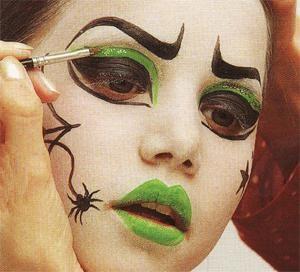 maquillage sorciere facile pour halloween