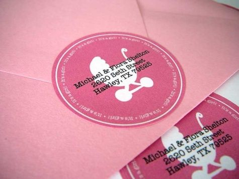 Address Labels for birth announcements free download! {BOY labels - free baby shower label templates