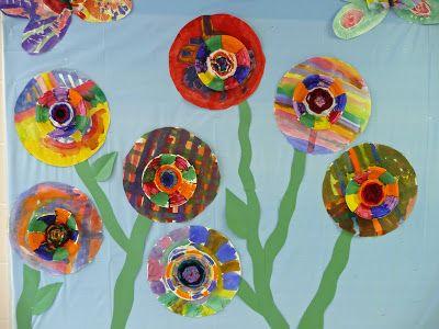 that artist woman: Woven Flowers and Butterflies tutorial