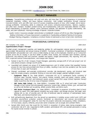 How To Write A Construction Resume Fascinating Construction Resume Writing Services A Professional Resume Stands .