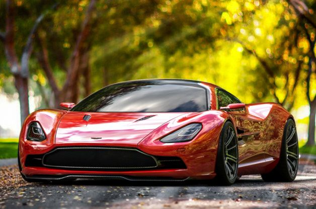 Aston Martin Dbc Concept Would Be A Gorgeous New Direction For The Brand Super Cars Aston Martin Concept Cars