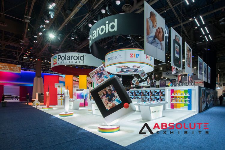 C A Global Polaroid Exhibit At Ces January 2018 Exhibit
