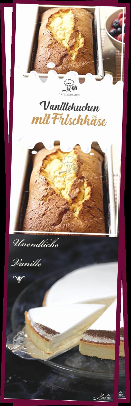 Photo of Vanillekuchen Mit Frischkse – Apfel Kuchen